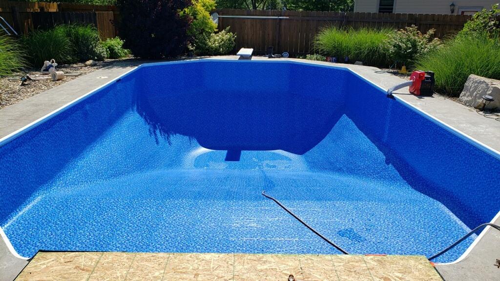 2. Pool Liner, After