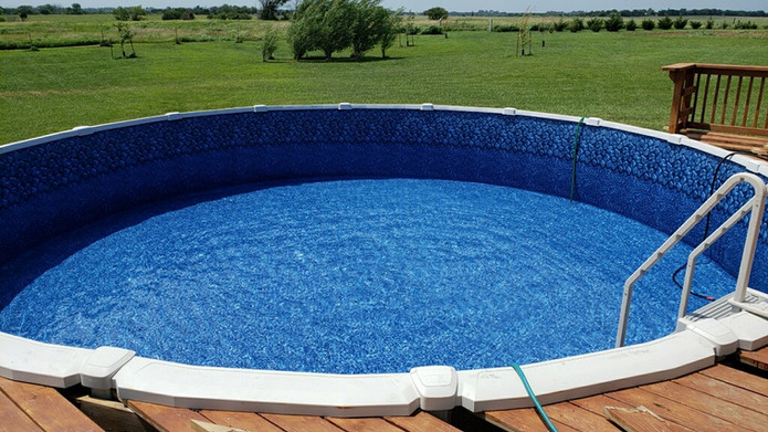1. Above Ground Pool, After