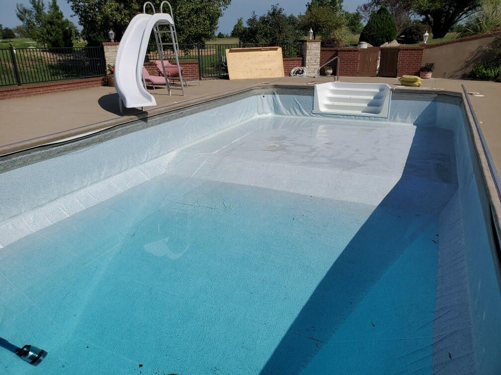 6. New Liner, Before