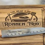 חריטה על סכין ובוצר