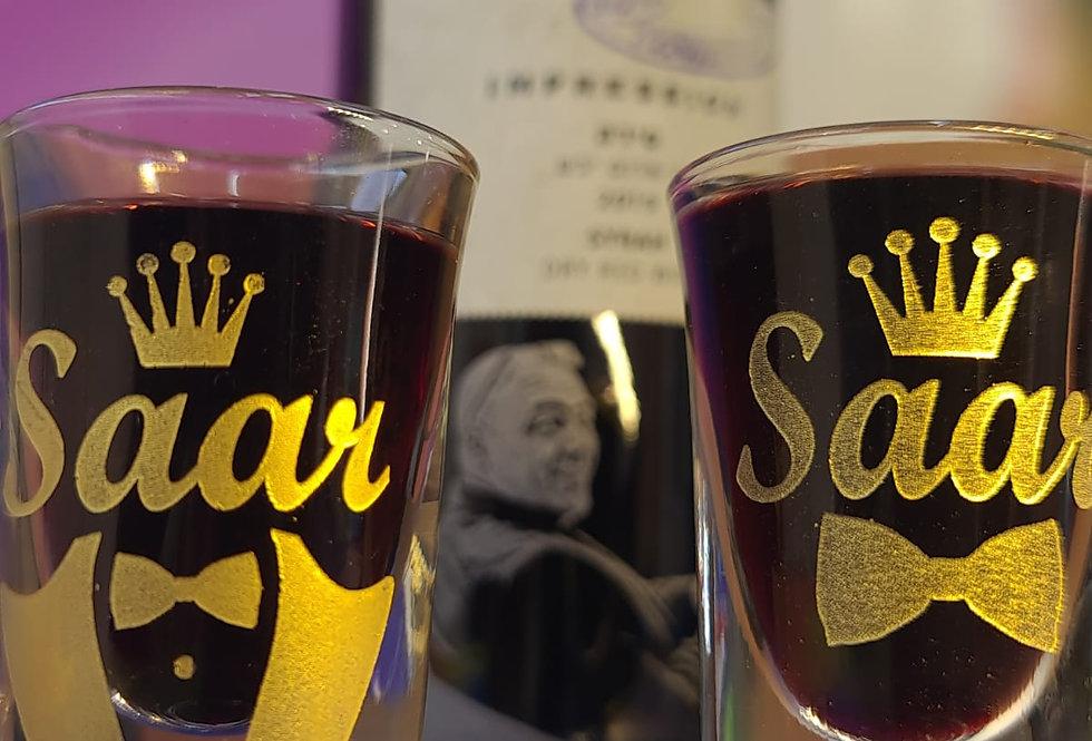 כוסות וויסקי עם חריטה בלייזר אישית
