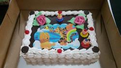 עוגה עם דף סוכר