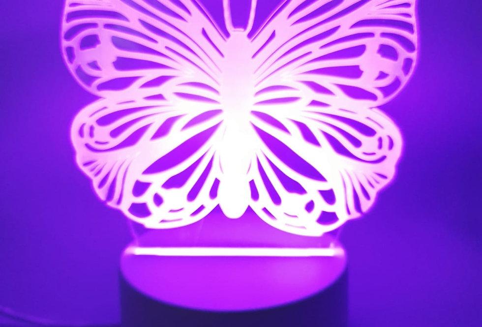 מנורת לילה מעוצבת