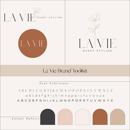 La Vie Branding Toolkit