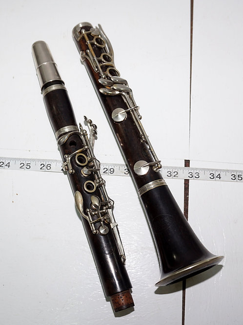 A Fontaine Wooden Clarinet