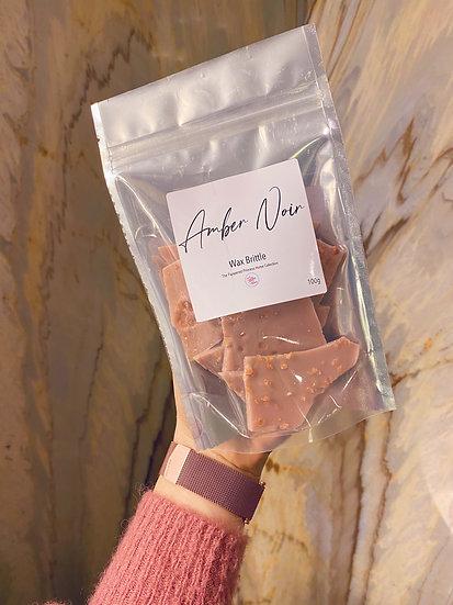 Amber Noir Wax Brittle