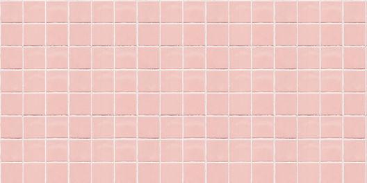 Pink ceramic square mosaic tiles texture