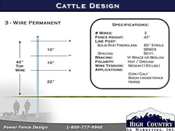 3-Wire Cattle specs