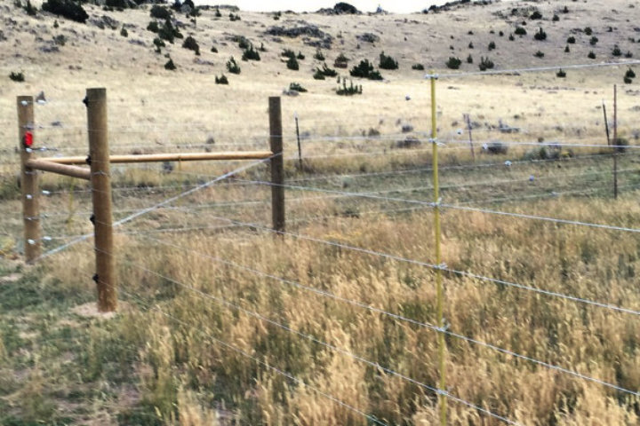 7-Wire Elk Fence