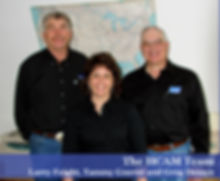 HCAM Team - Larry Feight, Tammy Gnerer, Greg DeSaye