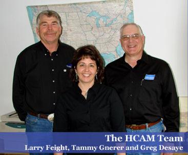 HCAM Team - Larry Feight, Tammy Gnerer, Greg DeSaye