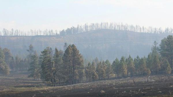 Ash Creek Fire of 2012
