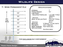 wildlife 7-Wire-72-Elk-specs