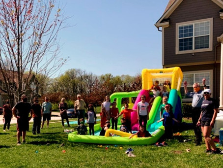 Bestway Slide Into Spring Break Party!