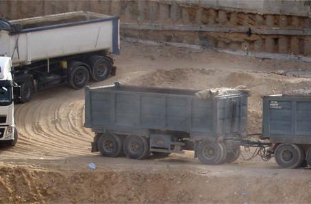 Effektiv byggelogistik kan reducere udledningen fra transport til og fra byggepladsen med 50%
