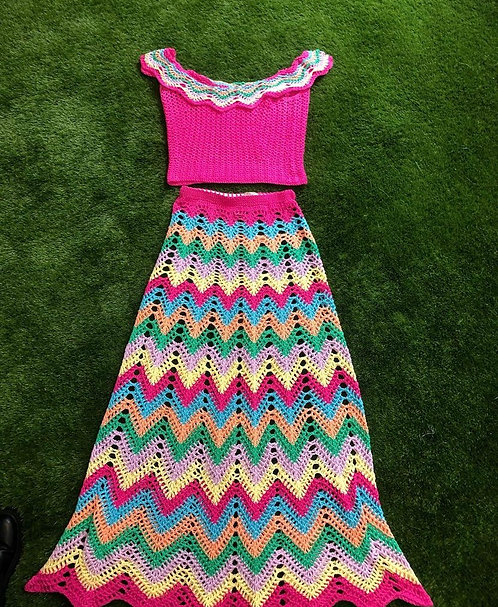 Handmade Crochet 2 piece
