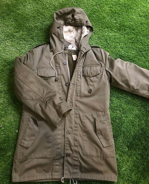 Men's Military Parka Jacket