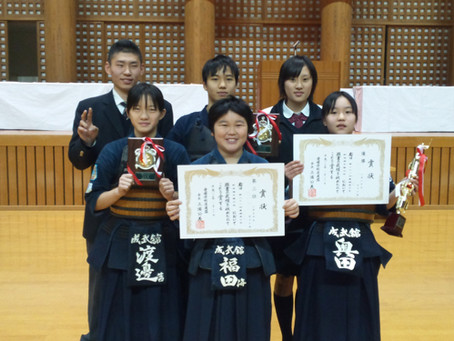 第21回愛媛県少年剣道選手権大会で各部門入賞!