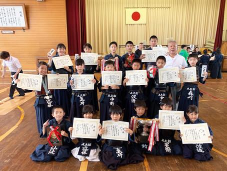 第51回松山市スポーツ少年団大会 剣道の部にて各部門入賞!