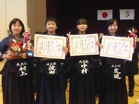 第24回愛媛県少年剣道選手権大会で各部門にて入賞!