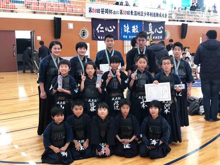 第38回東温地区少年剣道練成大会で各部門入賞!