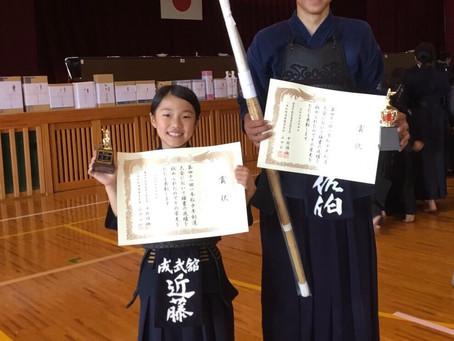 第41回一本松少年剣道大会で個人戦入賞!
