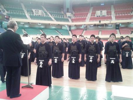 成武舘OBの中野・大亀先輩が全日本実業団剣道大会で優勝!