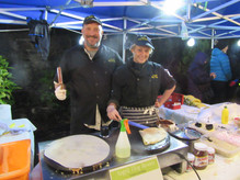 Crepes at Oban Winter Festival