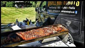 hog roast at Kilmartin.jpe