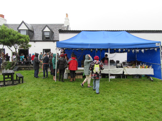 Ardfern Pirate Parade - event catering