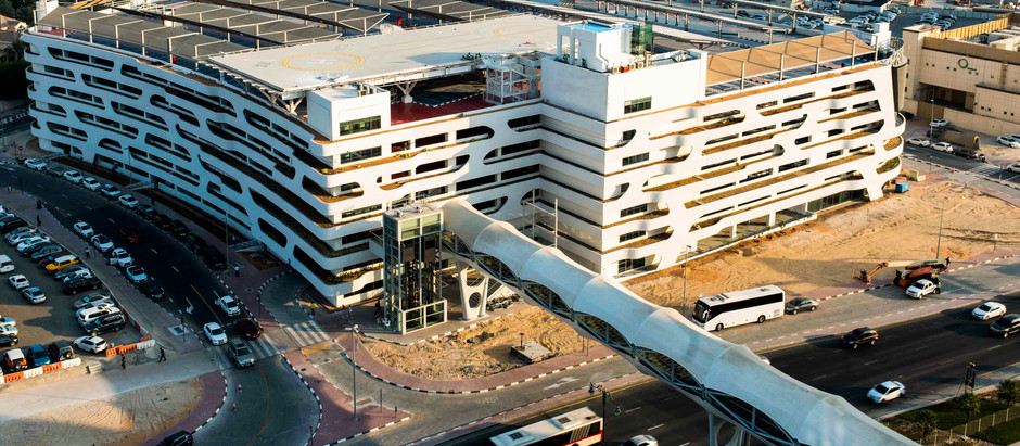 ECC and Prime Metal Industries deliver Happiness Street Car Park at Dubai World Trade Centre