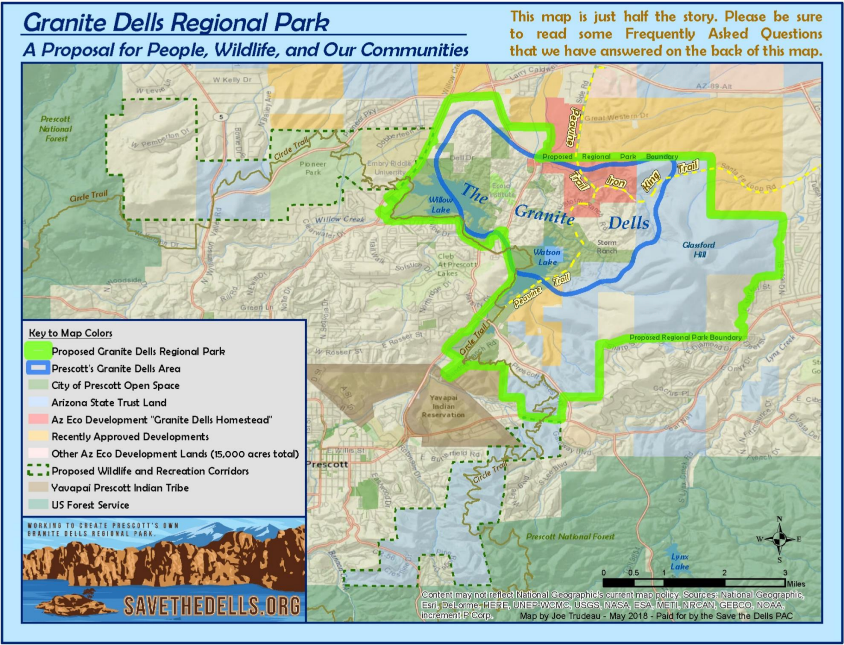 Map Of Arizona Prescott.Maps Save The Dells In Prescott Az