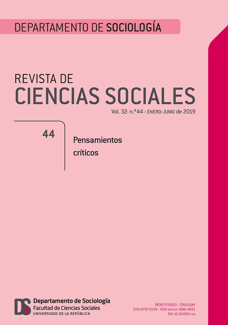 Revista de Ciencias Sociales 44