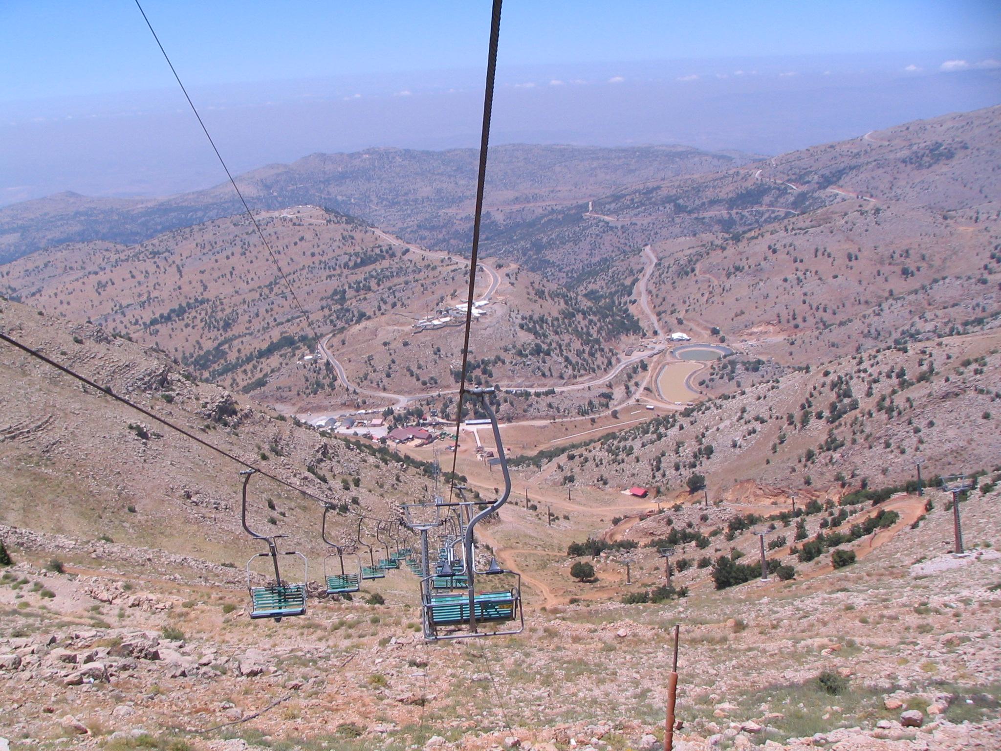 Подъёмник на гору Хермон