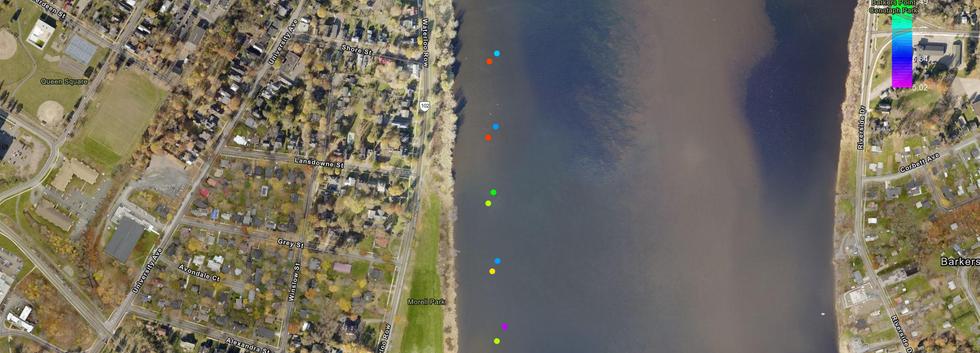 Dissolved O2 Data, Downtown Fredericton