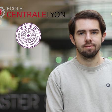 Alexandre Magueresse, étudiant à Centrale Lyon et à Tsinghua : un Data Scientist engagé !