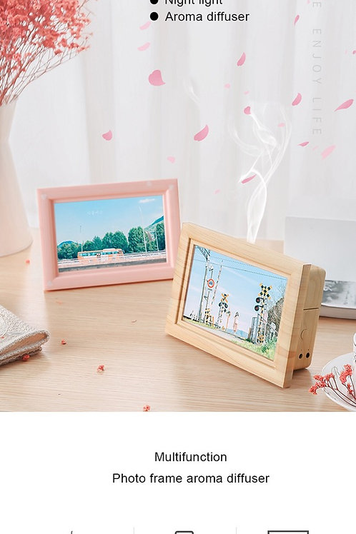 Wooden digital frame Humidifyer