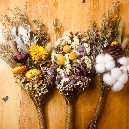 Preserved Fall Flower Bouquet