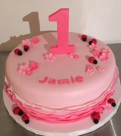 Pink Ruffles 1st Birthday