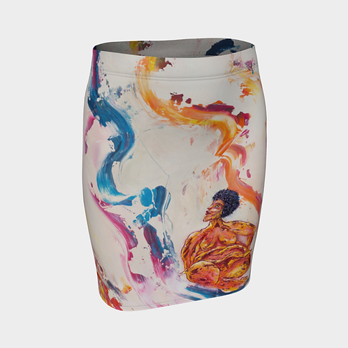 Visionary Fitted Skirt