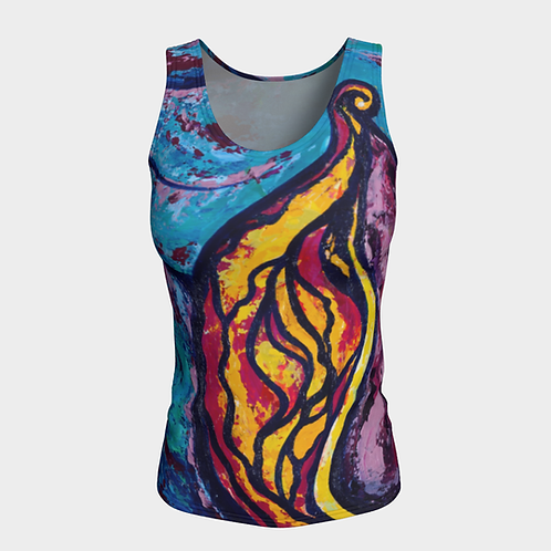 Reveal Your Secrets Fitted Tank