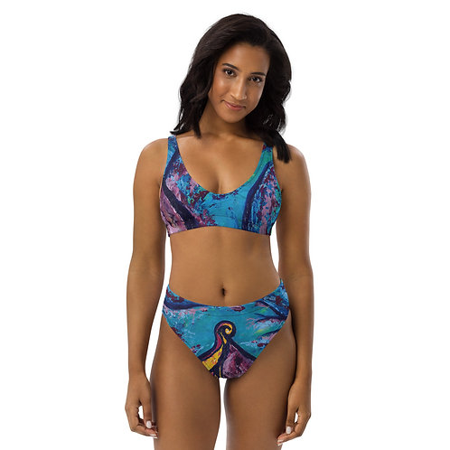 Reveal Your Depth  Recycled high-waisted bikini
