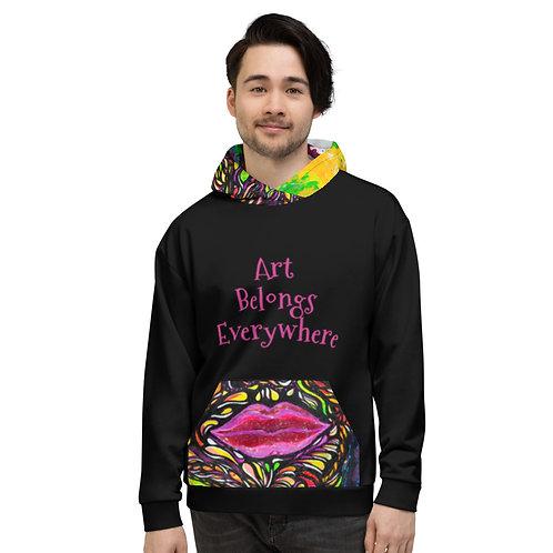 Profunda Art Belongs Everywhere Hoodie