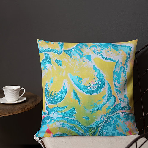 All Her Glory Art on Purpose Pillow