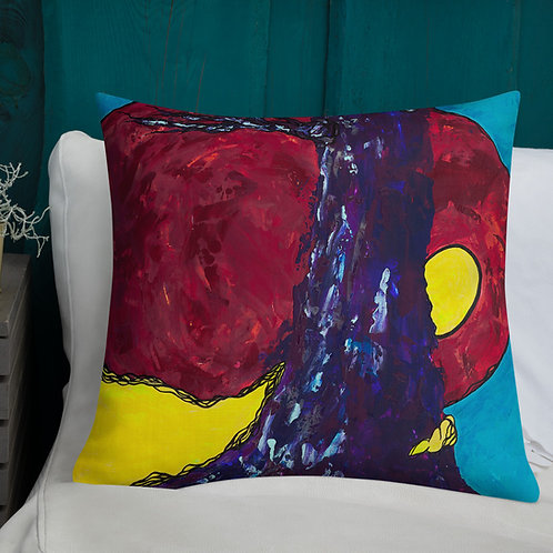 """By Sprite Light"" Art on Purpose  Pillow"