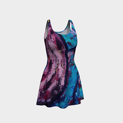 Reveal Your Depth Flared Dress