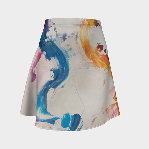 Visionary Colors Flared Skirt
