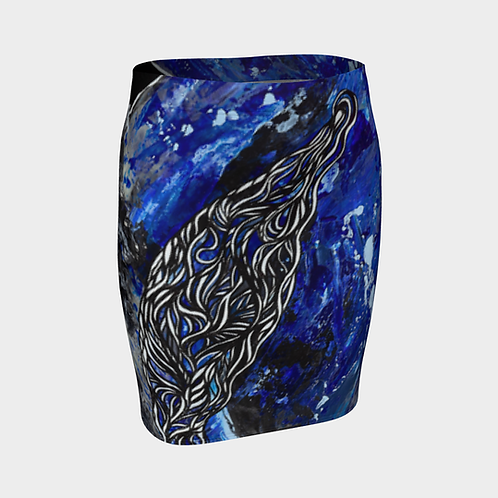 Freedom Fall Fitted Skirt