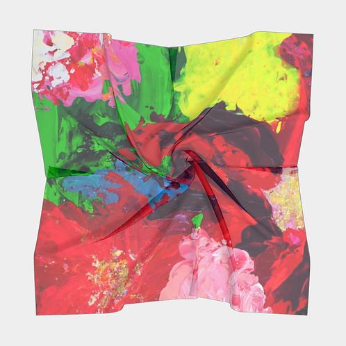 Profoundly Floral Silk Scarf