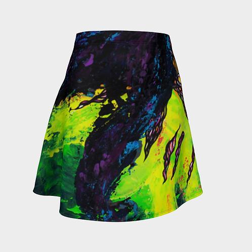 Profunda Purples Flared Skirt